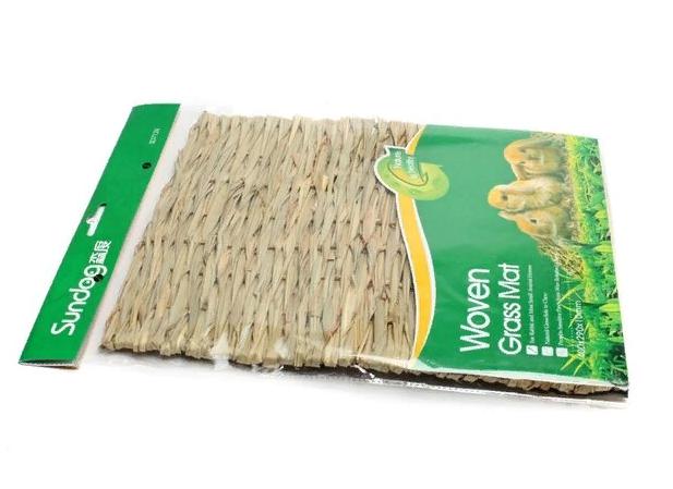Плетеный лежак для грызунов, солома/лоза, 40*29*1 см, Китай