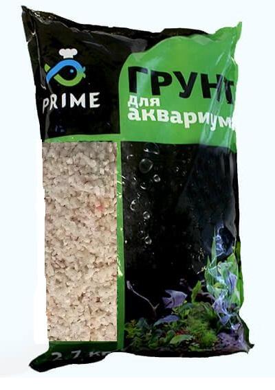 Прайм Грунт коралловый белый, в ассортименте, 2,7 кг, Prime