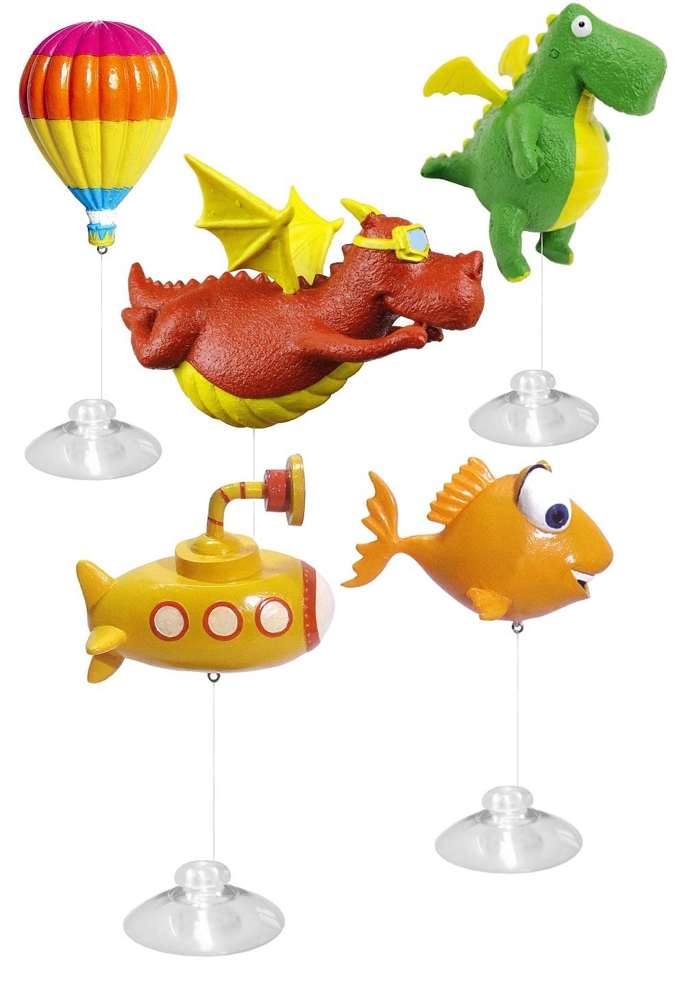 Прайм Декорация пластиковая Игрушка-поплавок, в ассортименте, Prime