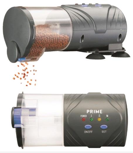 Прайм Автоматическая кормушка для рыб программируемая на 30 дней, Prime