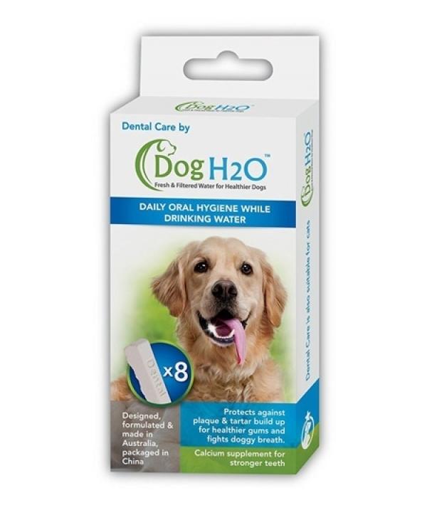 Фидекс Таблетки для гигиены полости рта Dental Care для поилок Feed-Ex CatH2O и DogH2O, 8 шт/уп, Feed-Ex