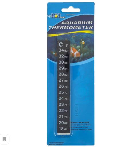 Полоска-термометр на стекло, жидкокристаллический, Китай