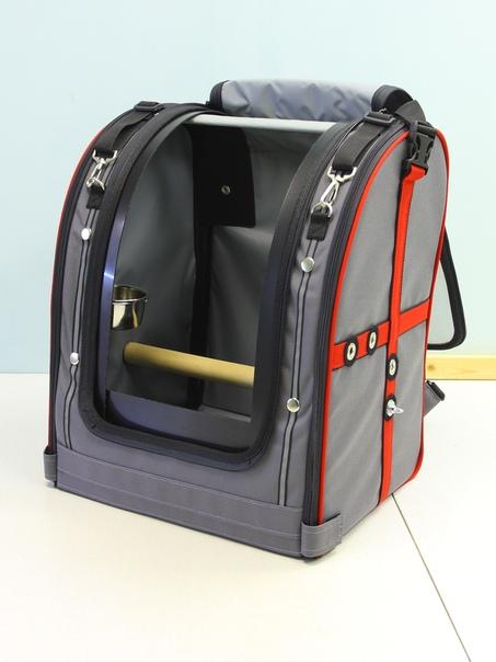 Переноска-рюкзак StePan глухая для птиц, 39*30*45 см, вес 2,4 кг, цвета в ассортименте