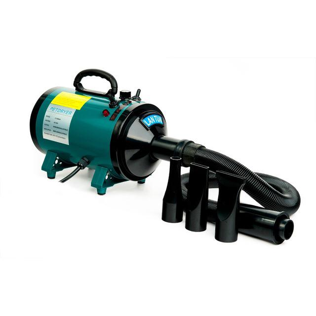 Доглэнд Фен-компрессор LT1090A-6 для животных, 2400 Вт, 38*16*24 см, вес 5,5 кг, Dod Land