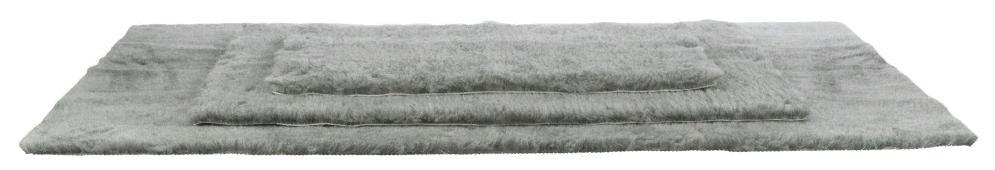 Трикси Коврик меховой на резиновой основе, серый, в ассортименте, Trixie