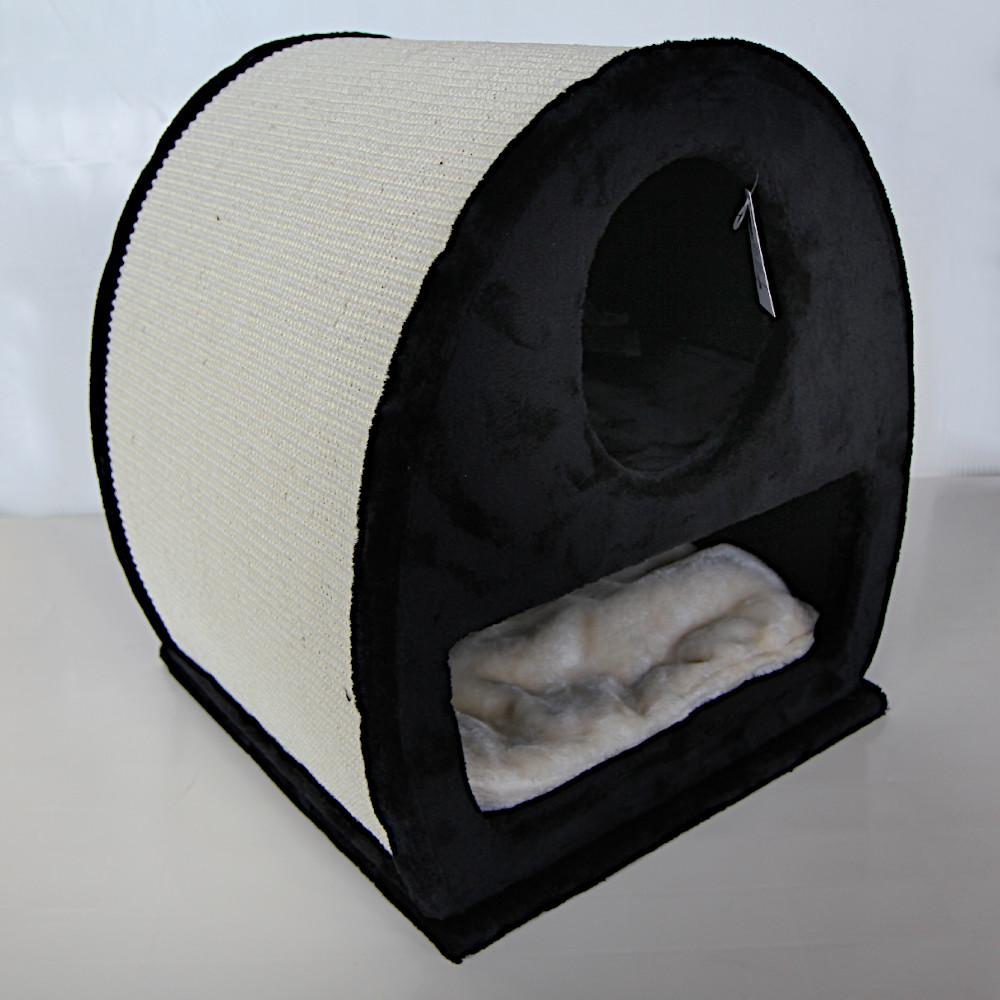ПетЧойс Когтеточка-домик PS249-1 двухэтажный, 45*40*50 см, вес 11 кг, Pet Choice