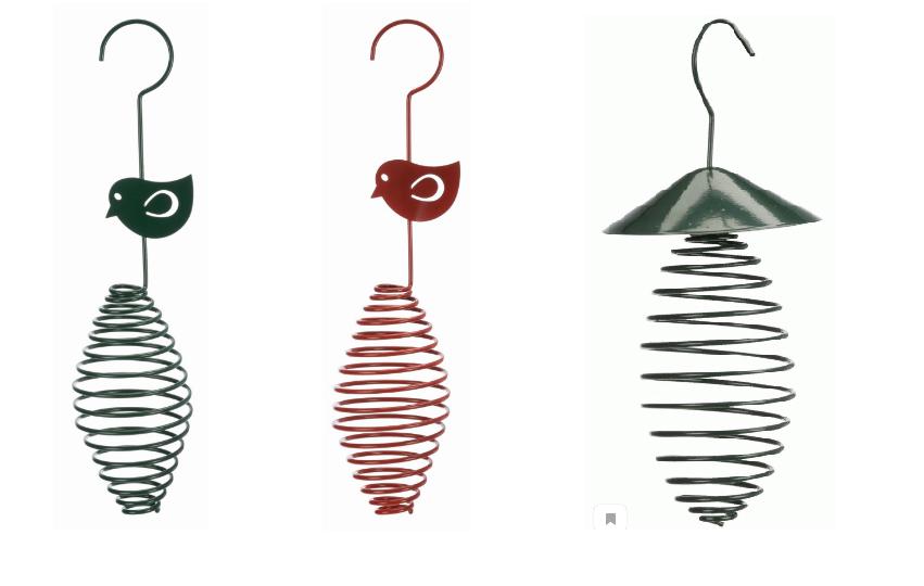 Трикси Кормушка-держатель для лакомств, жировых шариков подвесная, металл, в ассортименте, Trixie