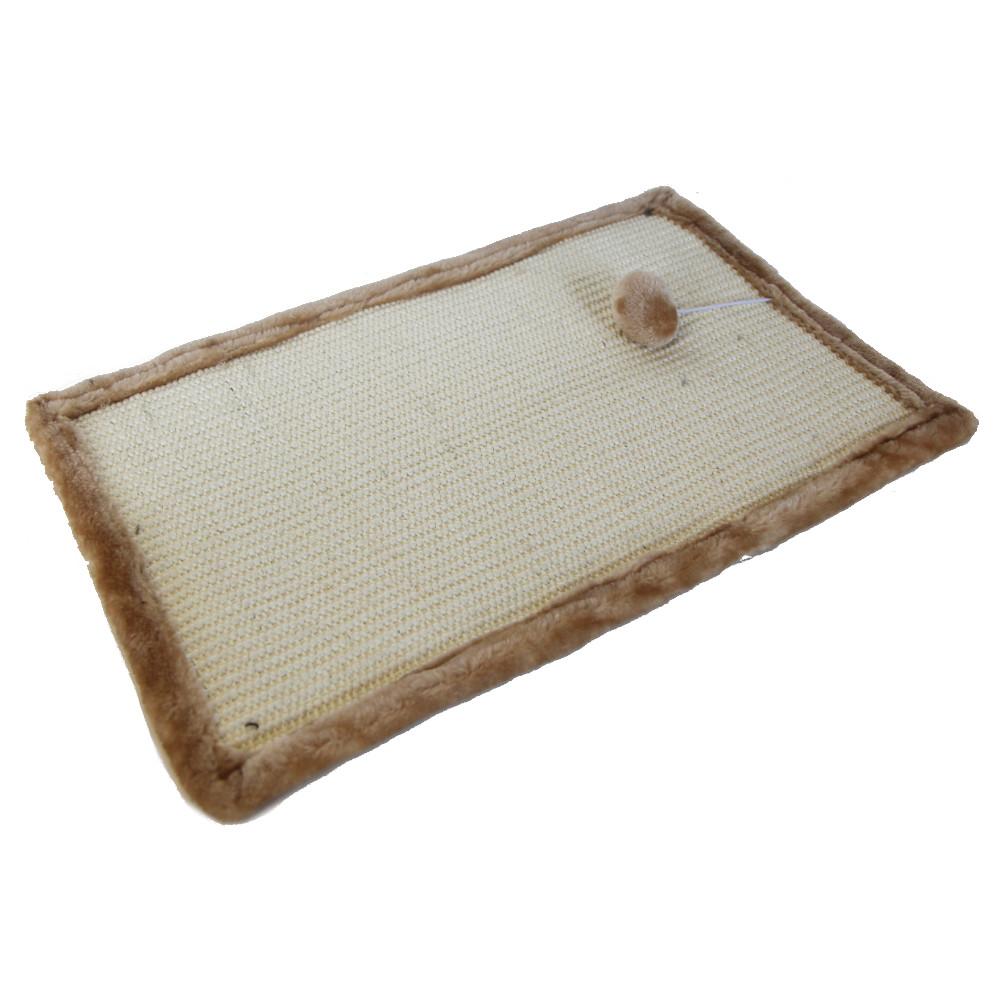 ПетЧойс Когтеточка-коврик SBE804 с игрушкой, 50*32 см, Pet Choice