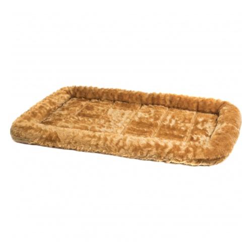 Мидвест Лежанка Pet Bed с бортиком рыже-коричневая, в ассортименте, MidWest