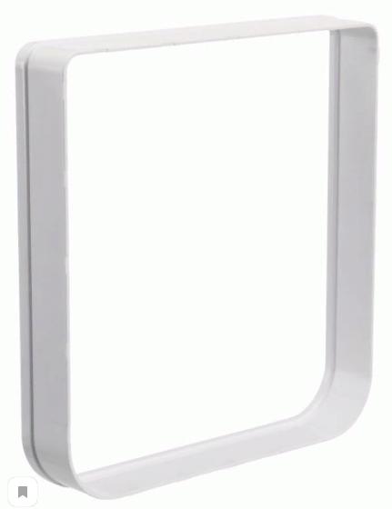 Трикси Дополнительный элемент (тоннель) для дверки 425777, белый, пластик, Trixie