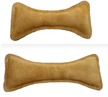 Анкур Игрушка Buffalo Кость для собак, в ассортименте, кожа буйвола, Ankur