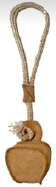 Анкур Игрушка-грейфер Buffalo для собак, 38*10 см, кожа буйвола, Ankur