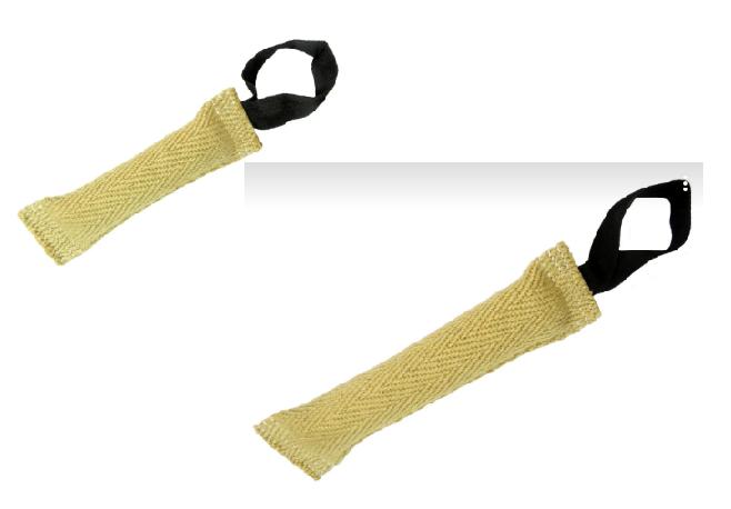 Анкур Игрушка Buffalo Палочка с петлей для собак, в ассортименте, джут, Ankur