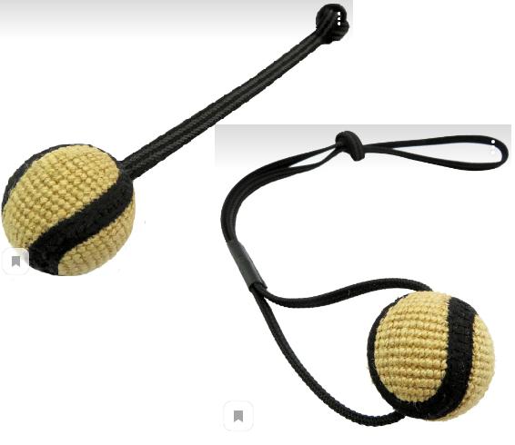 Анкур Игрушка Buffalo Мяч с петлей для собак, в ассортименте, джут, Ankur