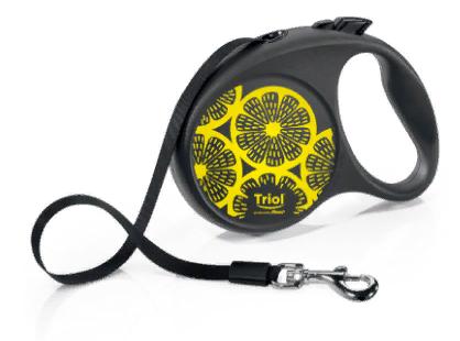 Триол-Флекси Рулетка Joy Lemon, лента, длина 5 м, в ассортименте, Triol-Flexi