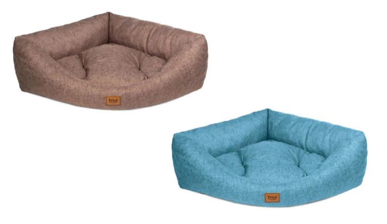 Триол Лежанка угловая для кошек и собак, 76*62*20 см, в ассортименте, Triol