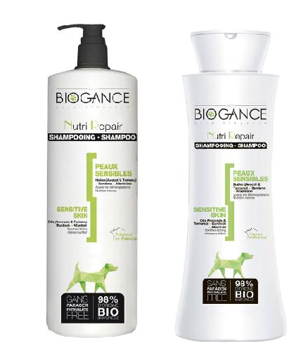 Биоганс Натуральный BIO-шампунь Biogance Nutri Repair для проблемной и чувствительной кожи, для собак и кошек, в ассортименте, Biogance