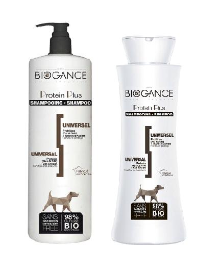 Биоганс Натуральный BIO-шампунь Biogance Protein Plus, для собак, в ассортименте, Biogance