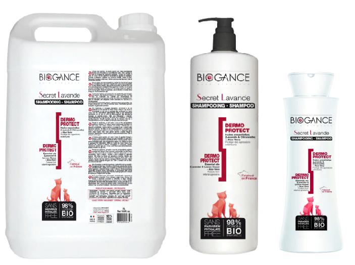 Биоганс Натуральный био-шампунь Biogance Secret Lavender для бережной защиты кожи от неблагоприятных воздействий, для кошек, в ассортименте, Biogance