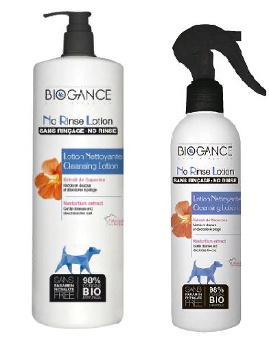Биоганс BIO-лосьон очищающий Biogance No Rinse Lotion без смывания, для собак, в асортименте, Biogance