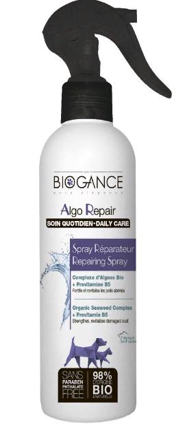 Биоганс BIO-спрей восстанавливающий/укрепляющий Biogance Algo Repair для шерсти собак и кошек, 250 мл, Biogance