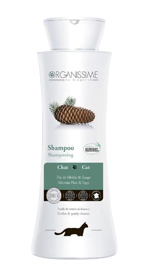 Биоганс Организме Эко-шампунь органический Cat Shampoo Organissime by Biogance  для кошек, 250 мл, Biogance