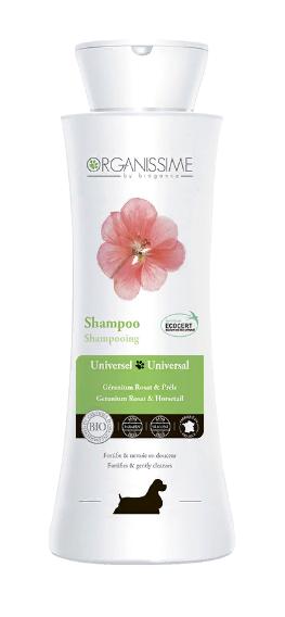 Биоганс Организме Органический эко-шампунь универсальный Universal Shampoo Organissime by Biogance  для собак, 250 мл, Biogance
