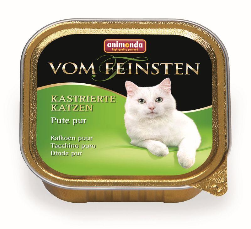 Консервы Анимонда Vom Feinsten for castrated cats для кастрированных кошек, в ассортименте, 32*100 г, Animonda