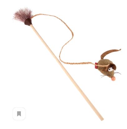 Гигви Удочка-дразнилка с мышкой, 51 см, GiGwi