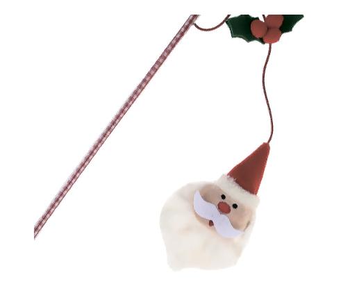 Гигви Удочка-дразнилка Санта, 51 см, GiGwi