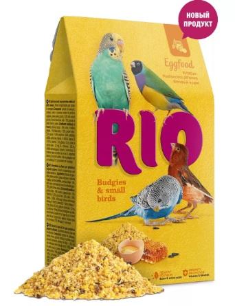 РИО Корм яичный для волнистых попугаев и других мелких птиц, 250 г, Rio