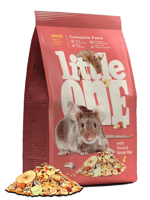 Литтл Уан Корм для мышей, 400 г, Little One