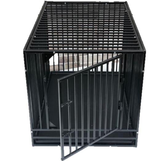 Доглэнд Клетка усиленная однодверная металлическая Strong Edition для собак, в ассортименте, Dog Land
