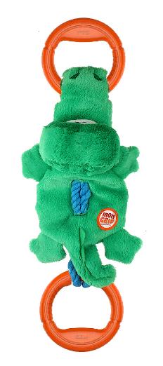Гигви Игрушка Крокодил на веревке для собак, 51 см, Gigwi