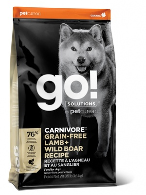 Корм Гоу сухой беззерновой Natural Holistic Carnivore для щенков и собак, Ягненок/Мясо дикого кабана, в ассортименте, Go! Natural