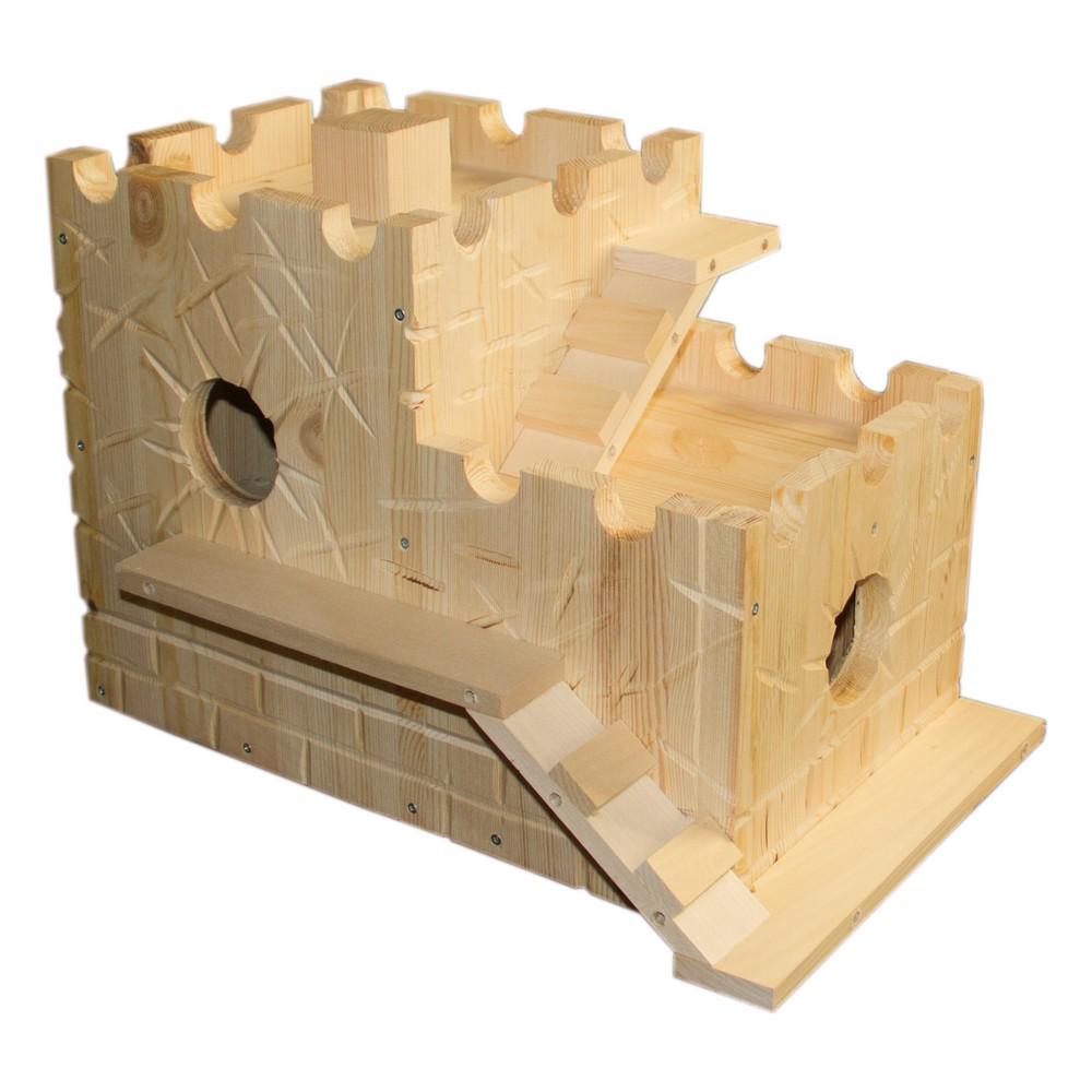ПарротсЛаб Домик для белок Замок PL3058, 45*28*30 см, вес 5 кг, ParrotsLab