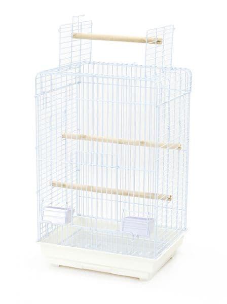 Клетка 830A с открывающимся верхом для птиц, 52*41*78 см, в ассортименте, Золотая Клетка