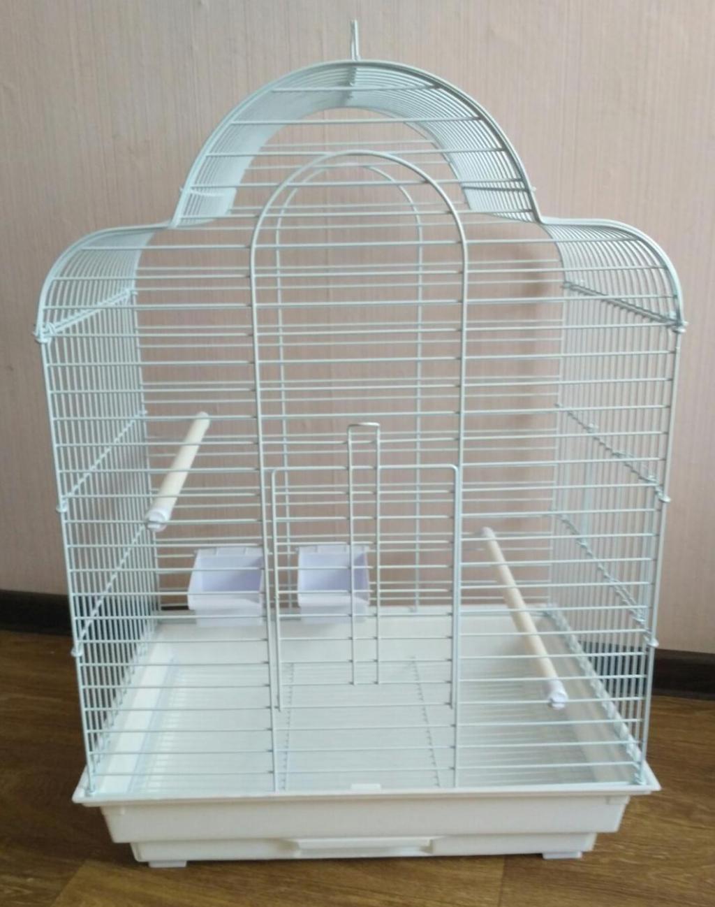 Клетка 800 для средних птиц, 52*41*71 см, в ассортименте, Золотая Клетка