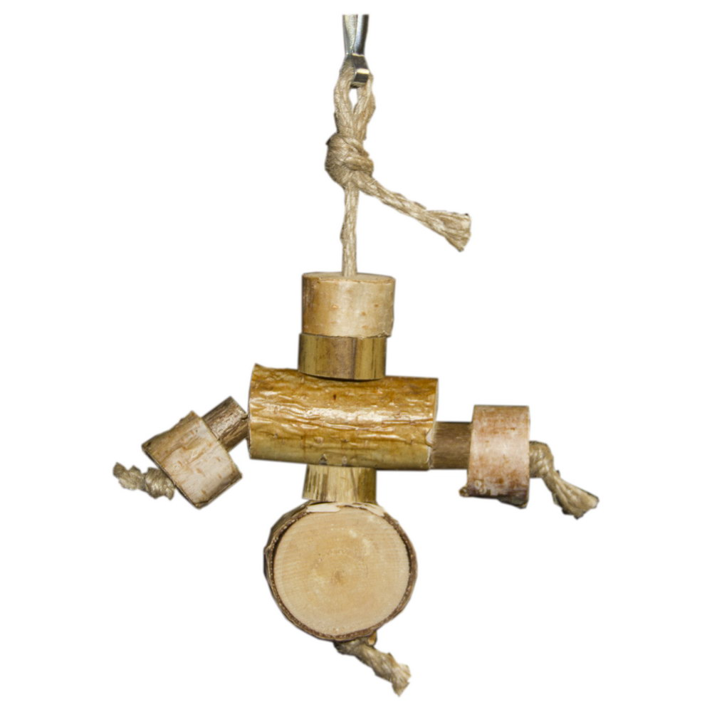 ПарротсЛаб Игрушка PL1062 для птиц, длина 19-20 см, ParrotsLab