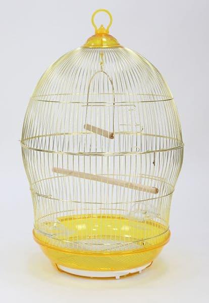 Клетка 370 круглая для птиц, 48,5*76 см, в ассортименте, Золотая Клетка