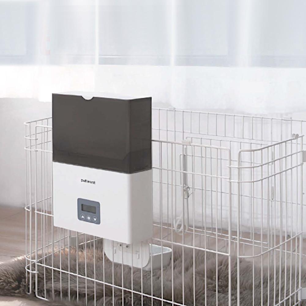Петвант Автокормушка в клетку навесная Cage Feeder F4 для кошек, хорьков, грызунов, птиц, собак, 24,5*30*38 см, объем 2,3 л, Petwant
