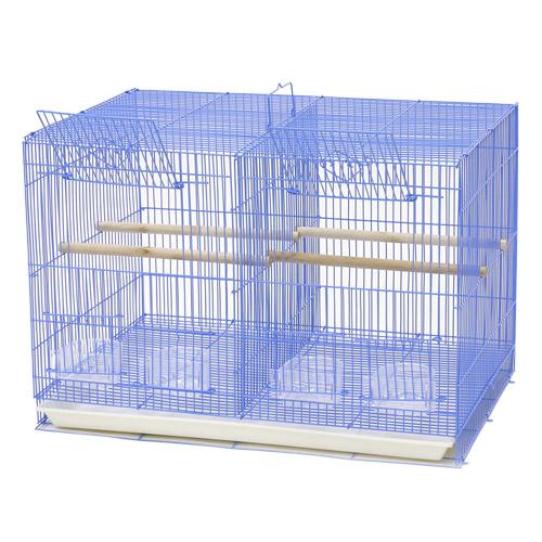 Кредо Клетка для птиц 603 с разделительной выдвижной решеткой, 60*42*41 см, в ассортименте, Kredo