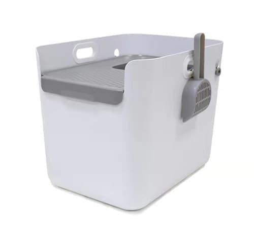 Туалет C503 закрытый, с верхним входом, для кошек, 56*41*44 см, совок в комплекте