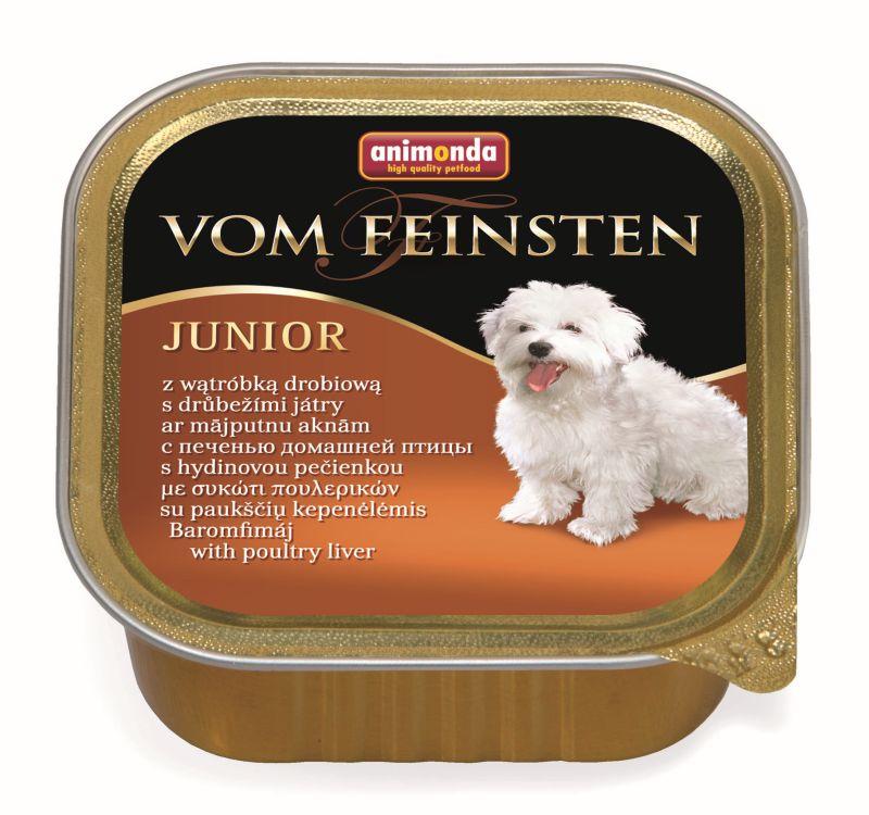 Консервы Анимонда Vom Feinsten Junior для щенков и юниоров, в ассортименте, 22*150 г, Animonda