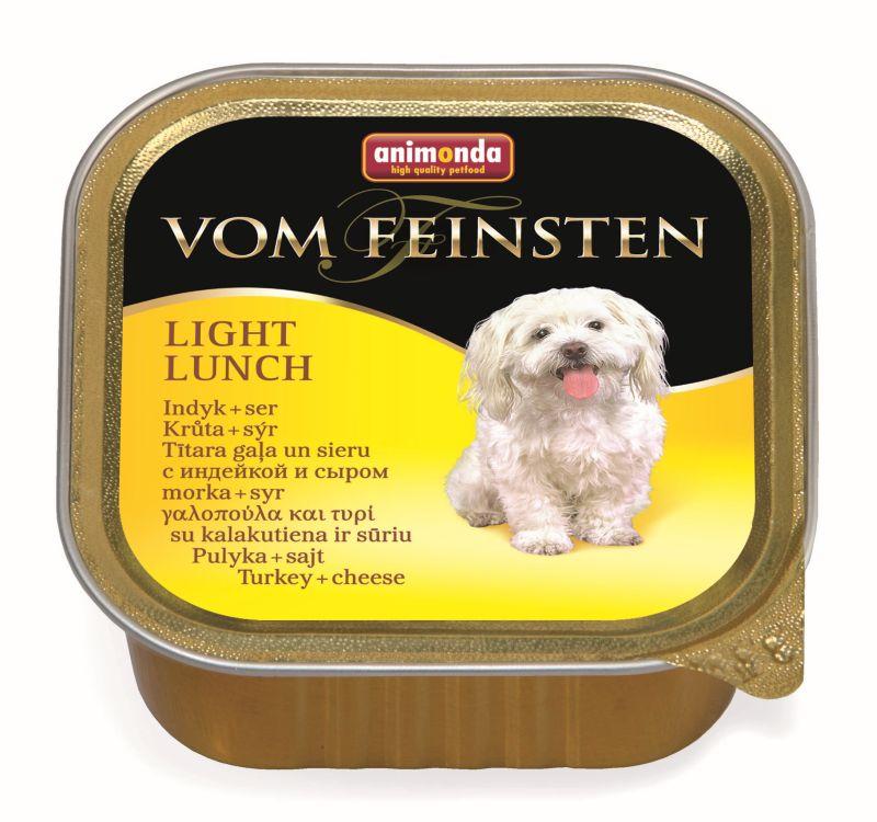Консервы Анимонда Vom Feinsten Light Lunch Облегченное меню для собак, Индейка/Сыр, 22*150 г, Animonda