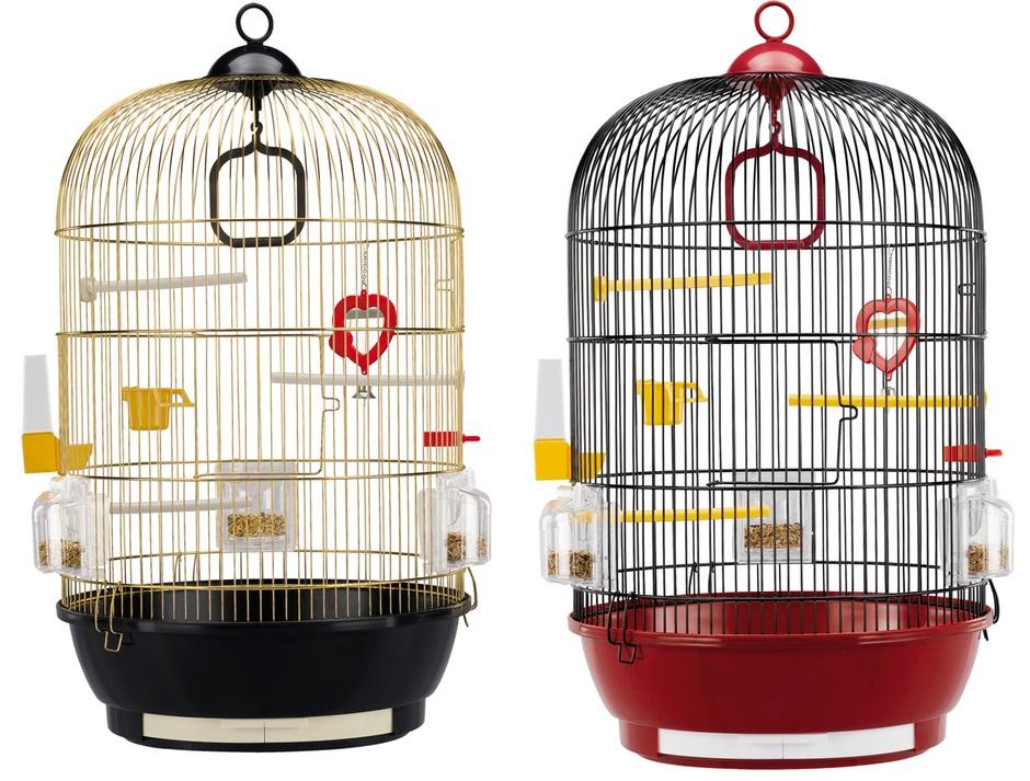 Ферпласт Клетка Diva для птиц, диаметр 40 см, высота 65 см, 2 варианта, Ferplast