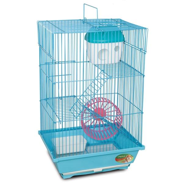 Триол Клетка с выдвижным лотком для мелких грызунов 2203K, 30*23*47 см, Triol