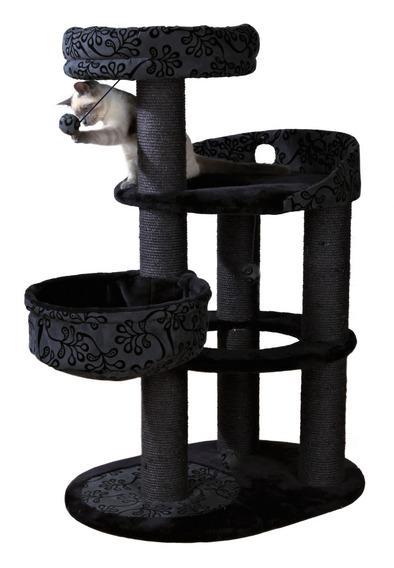 Трикси Комплекс для кошки Fillipo, 77*58*114 см, чёрный/антрацит, Trixie