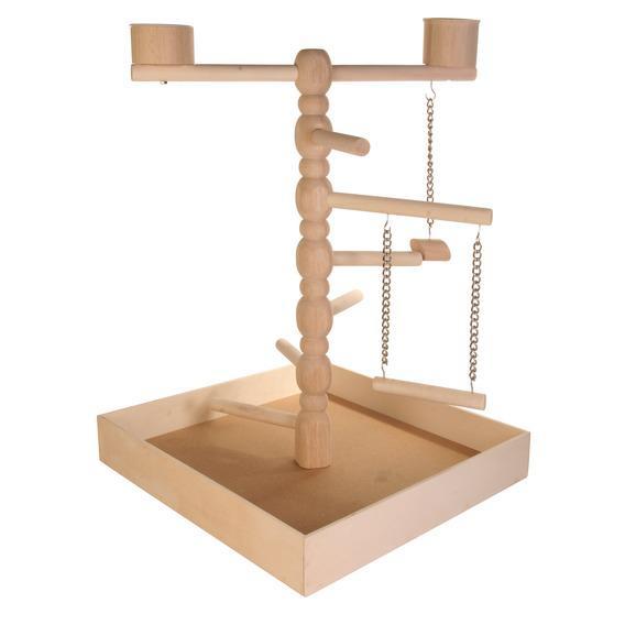 Трикси Игровая площадка для мелких и средних птиц, 41*41*55 см, Trixie