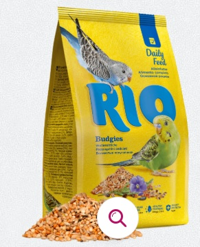 РИО Корм для волнистых попугаев Основной рацион, в ассортименте, RIO